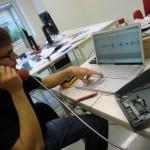 Testing playback through telephone receiver